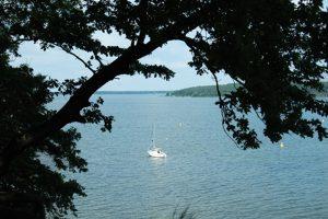 Plauer See von der Lenzer Höh aus
